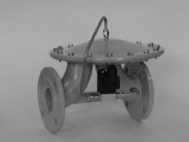Клапан газовый мембранный КЗМЭФ-40